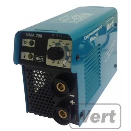 Инверторный сварочный аппарат Wert MMA 200